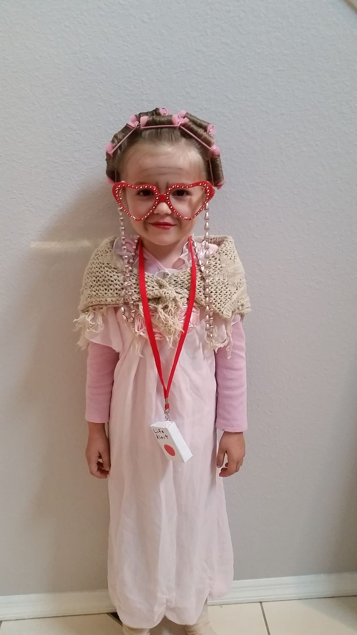 100 years old for the 100th day of school