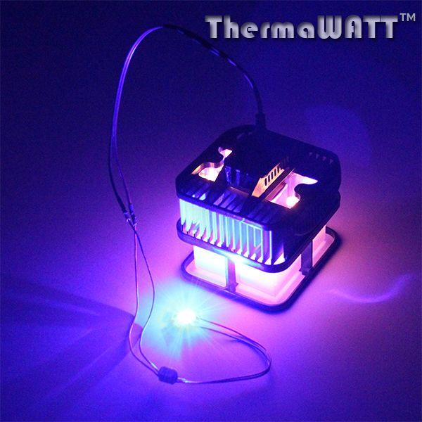 The ThermaWatt Candle Powered TEG Generator