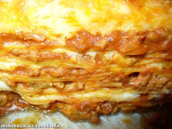 Božské lasagne..