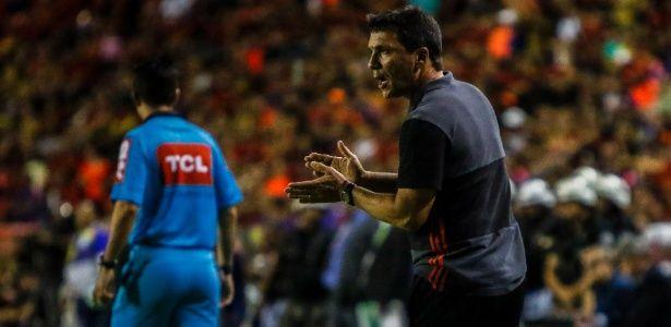 """Flamengo não engrena busca motivos de falhas e tabela vira """"salvação"""""""