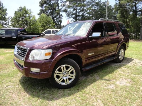 2006 Ford Explorer Limited 4WD 3RD ROW Black Leather EVERY OPTION (exit91 off i-26 CHAPIN SC) $6975