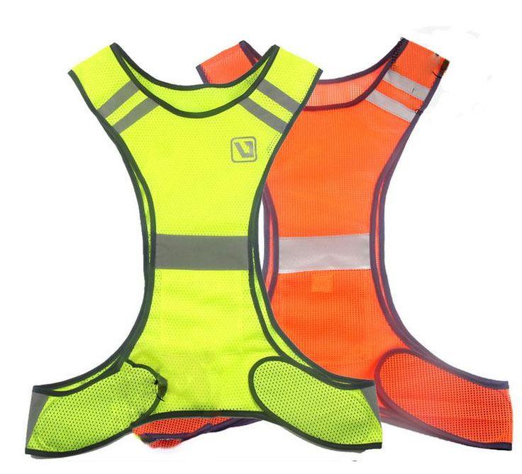 Orange amarillo fluorescente de alta visibilidad chaleco reflectante de seguridad equipo de trabajar de noche nueva llegada de la alta calidad