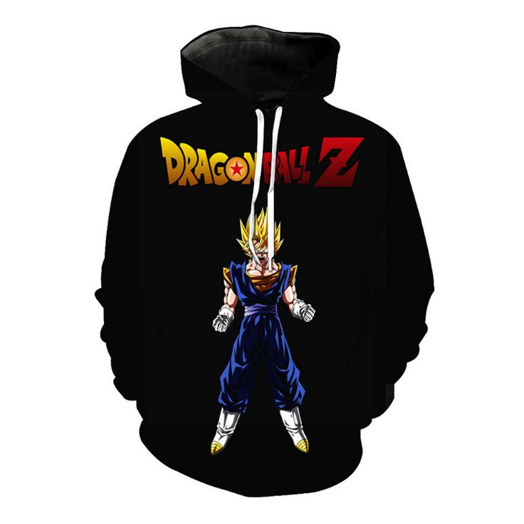 Anime Girl Wearing Hoodie - Dragon Ball Z - Free Shipping Worldwide