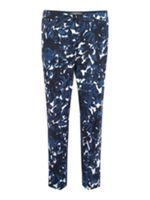 Look what I found at House of Fraser  Marina Rinaldi Floral straight trousers