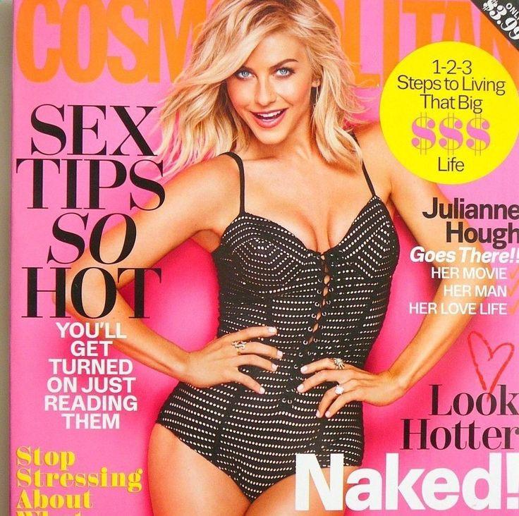 Julianne Hough Cosmopolitan Mag Feb 2016 NEW Sex Tips Nikki Glaser Manspreading