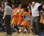 The discussion ranged from Boeheim's tantrum after the second Syracuse-Duke game to Pilates.