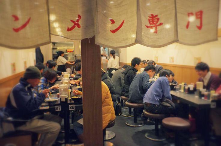 All-star Ramen noodles at Tokyo Ramen Street  http://mcha-jp.com/540