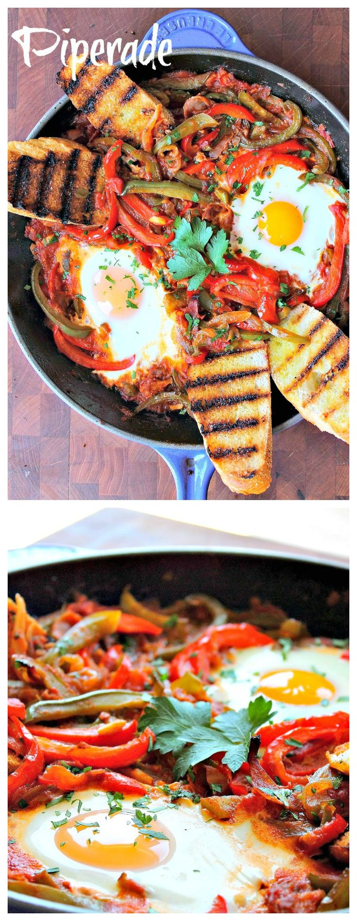 Piperade - Classic French #basque #cuisine, very delicious and great for #brunch.