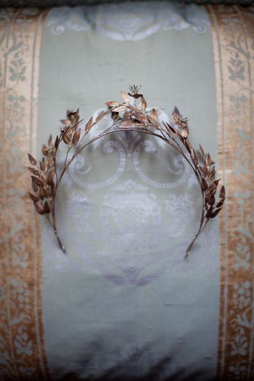 Edwardian bridal crown