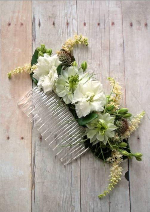 DIY-flower-comb