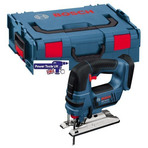 Bosch GST18V-LINCG Jigsaws complete with Bosch L-Boxx supplied by Power Tools UK