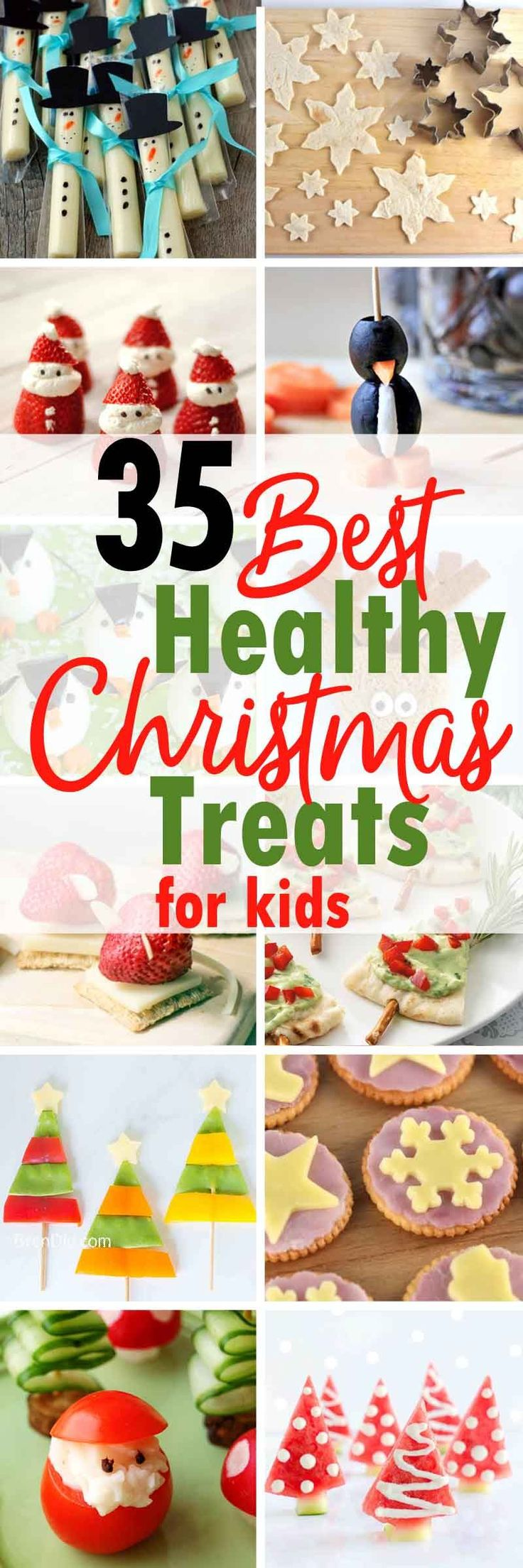 Healthy Christmas treats for kids -  Love the holidays but hate sugar-filled snacks? These healthy Christmas treats are perfect for a healthy holiday season.