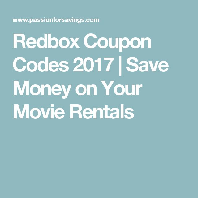 Best 25 redbox codes 2017 ideas on pinterest christmas gift redbox coupon codes 2017 save money on your movie rentals fandeluxe Choice Image