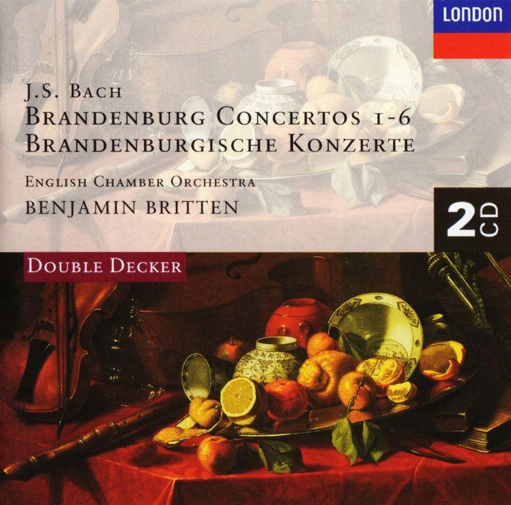 J. S. Bach, Brandenburg Concertos 1-6, English Chamber Orchestra, Benjamin Britten, London Records