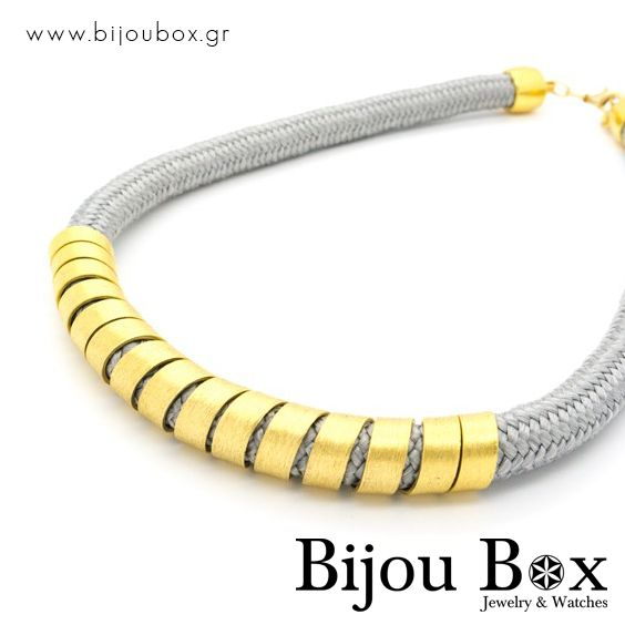 Necklace bronze gold plated SILENOS Κολιέ μπρούτζο επίχρυσο SILENOS Check out now... www.bijoubox.gr #BijouBox #Necklace #Κολιέ #Handmade #Χειροποίητο #Greece #Ελλάδα #Greek #Κοσμήματα #MadeinGreece #Gold #jwlr #Jewelry #Fashion