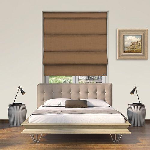 Controliss Turin Ametista battery powered roman blind. #Shades #Home #HomeDecor #InteriorDesign #Decor #RomanBlinds #CreateYourHome #BudgetBlinds #WindowShades #Window #Design #Blind #WindowCoverings #Windows #Blinds #MadeinUK