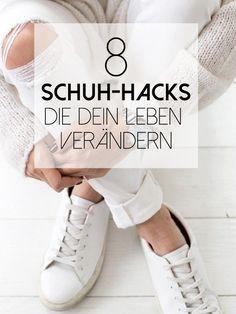8 geniale Schuh-Hacks, die dein Leben erleichtern werden