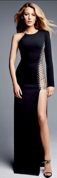 Blake Lively in Anthony Vaccarello