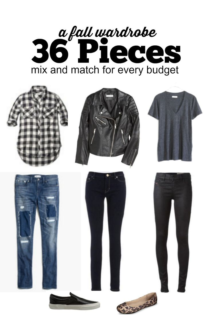 Do you have a basic fall wardrobe? Here is my EASY and budget friendly  guide to…