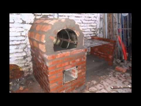 como construir un horno de barro y compartir con la familia. - YouTube