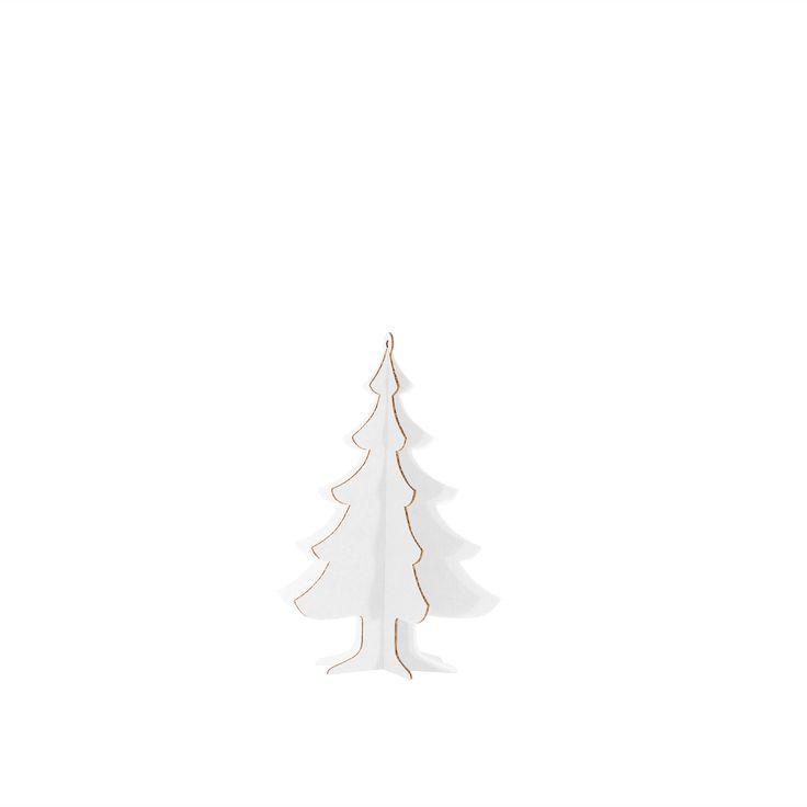 ALBERELLO DI NATALE BASIC M A003451  #cardboard #christmas #tree