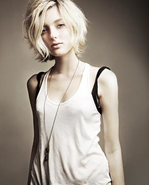 Sophie Sumner - love her hair