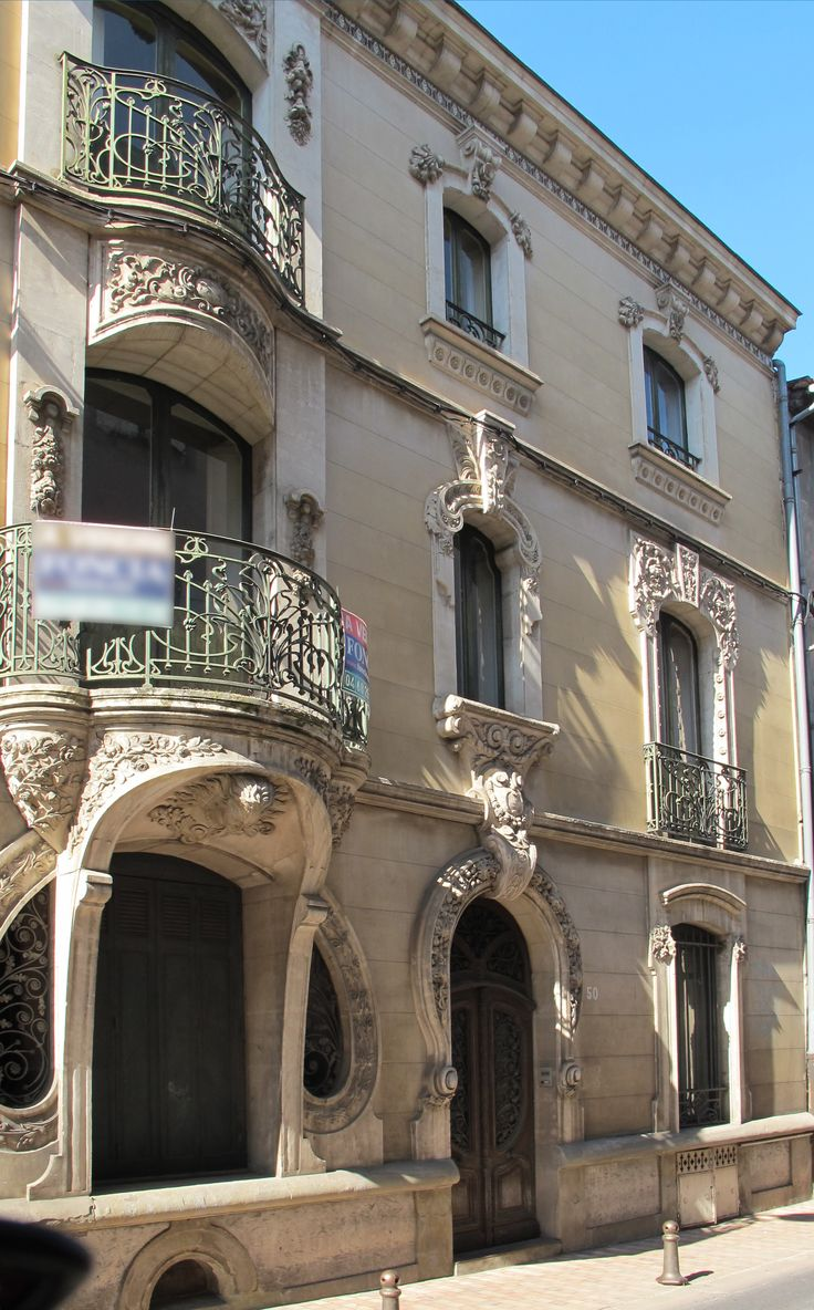 French art nouveau architecture the for Architecture art