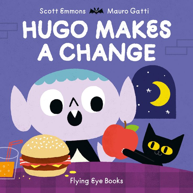 Our 2nd Book of the Month in Storytime Issue 38 –Hugo Makes a Change by Scott Emmons and Mauro Gatti (Flying Eye Books). So good for Halloween AND beyond! Win it here: http://www.storytimemagazine.com/win
