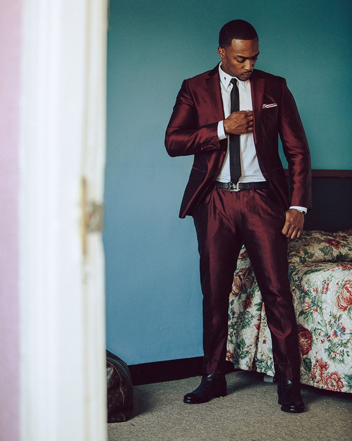 Anthony Mackie photographed by Nicholas Maggio