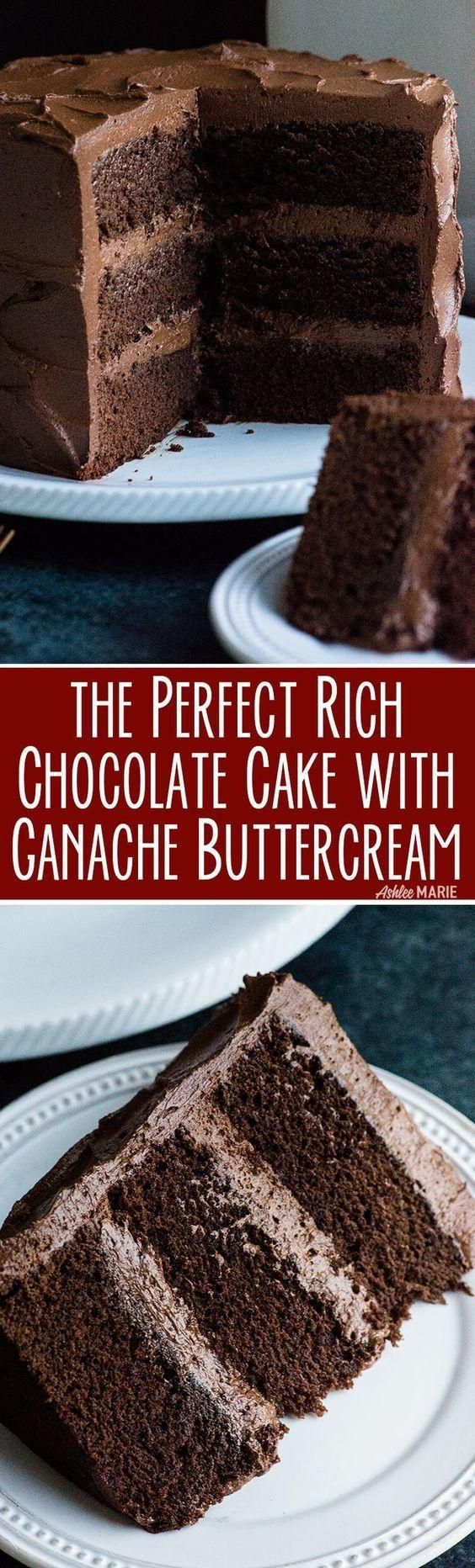 The prefect chocolate cake! A rich and decadent chocolate cake recipe with video tutorial. This cake tastes amazing AND is dense enough for carving and building 3D cakes. Delicious! #chocolate #cake