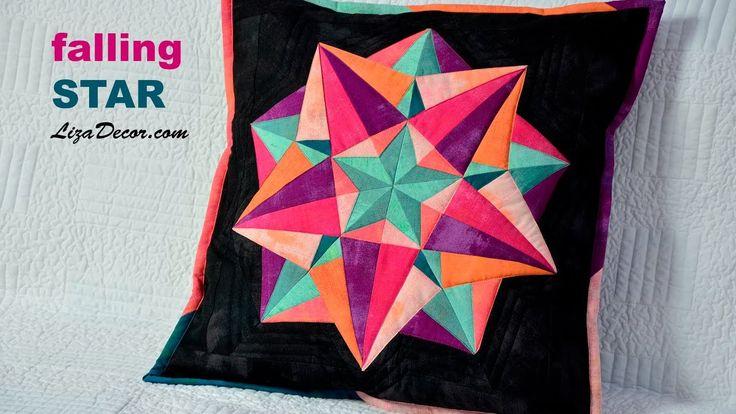 #falling #star #lizadecor #tutorial #pattern #video #šablony
