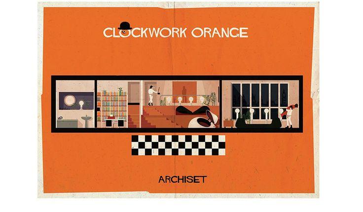 Uhrwerk Orange Poster