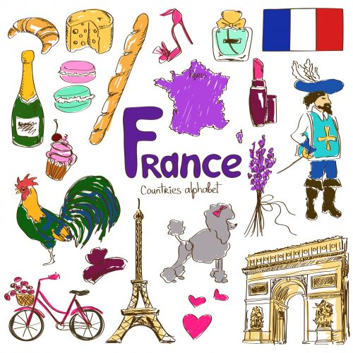 'F' is for France with this free download! Learn about France and its culture with the assistance of this free printable. From