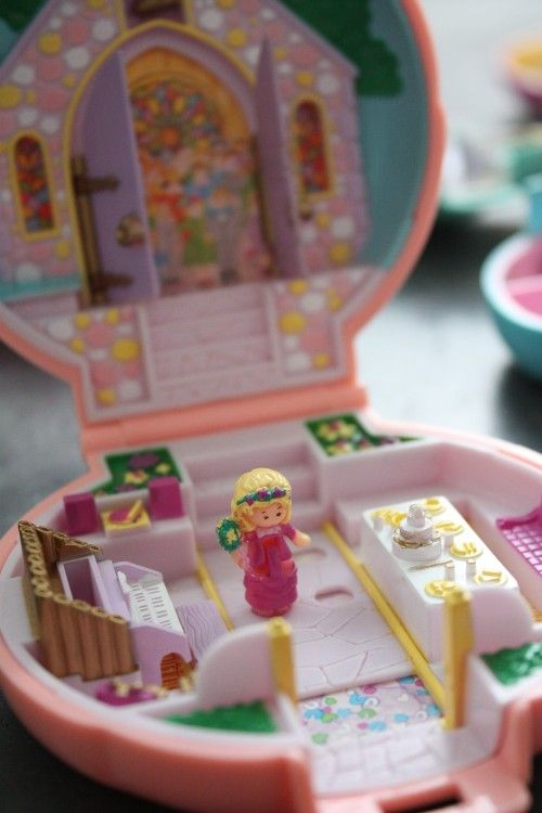 polly pocket mariage