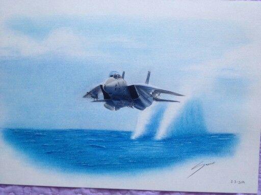 F14 close water