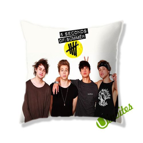 5 Second Of Summer 2  Square Pillow Cover