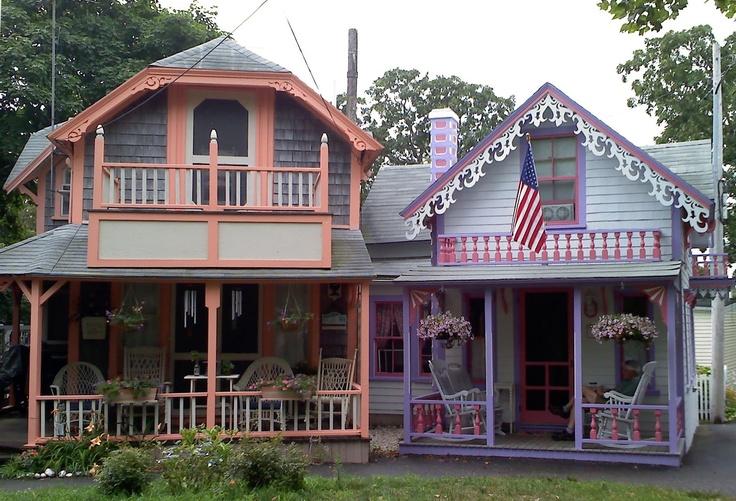 Gingerbread house, Martha's Vineyard Tiny house design