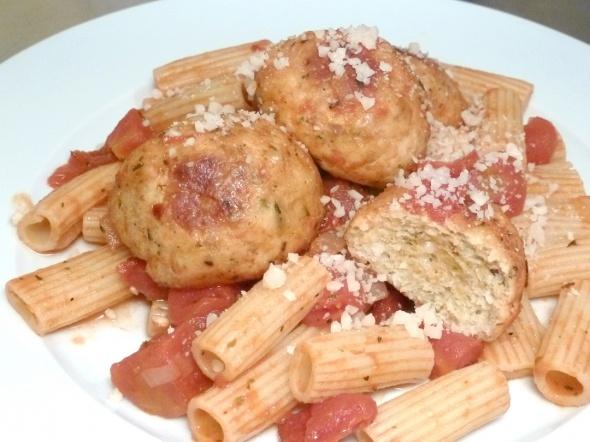 Baked chicken meatballs | Yummyness | Pinterest