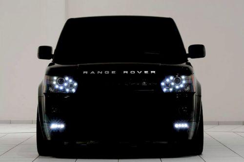 dream car. black range rover <3