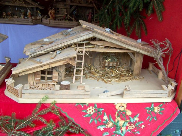 17 Best Ideas About Nativity Stable On Pinterest