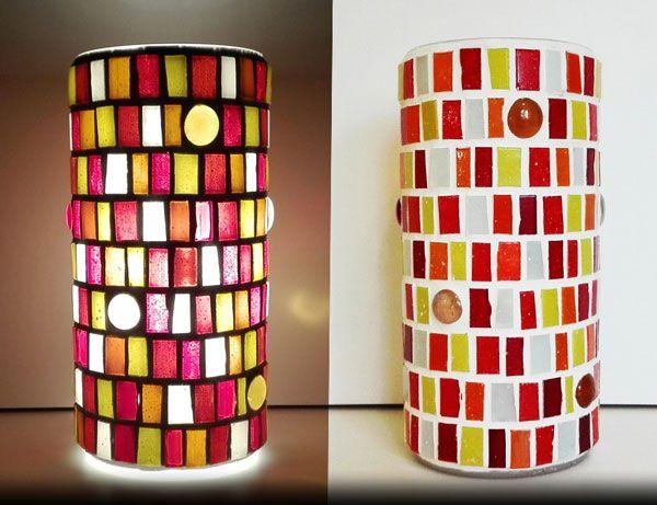 Euphoria mosaic lamp