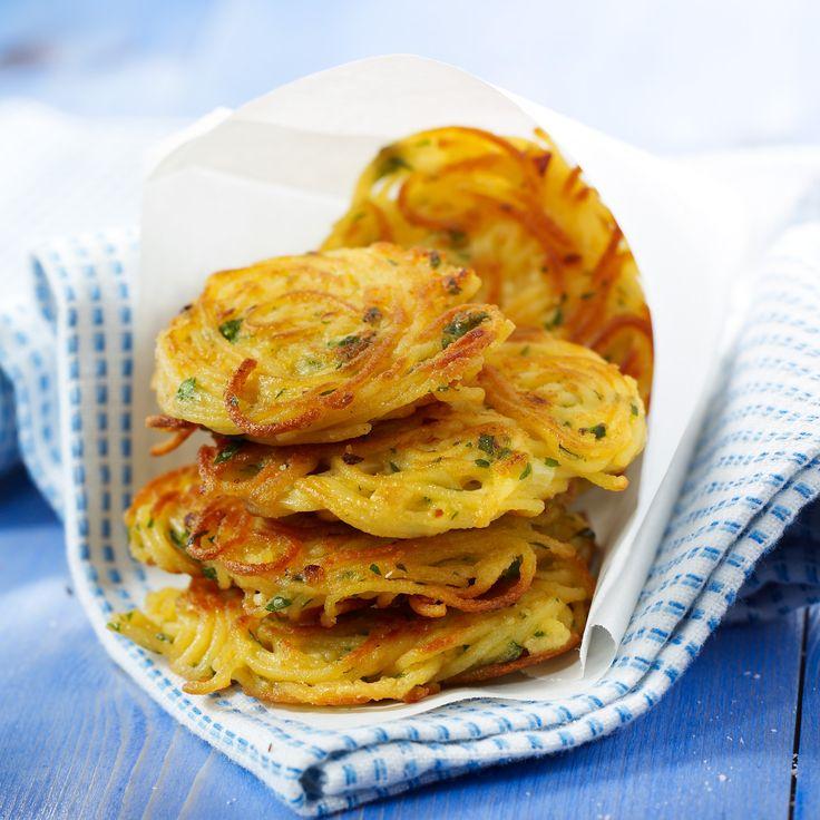 Croquettes aux spaghettis #recette #pasta #facile