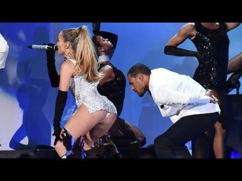 Jennifer Lopez - Papi On The Floor feat Pitbull America Music Awards - YouTube