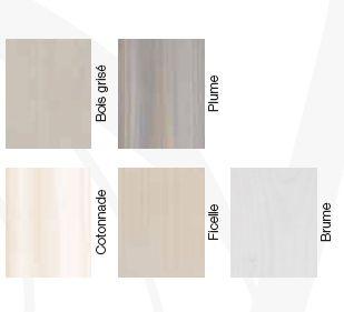Pour peindre poutres, lambris ou portes en bois au badigeon un nuancier de 5 couleurs Badigeon Libéron aspect mat.