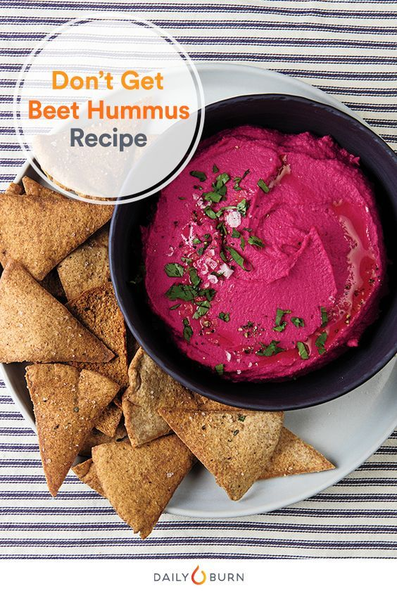 If you're still not making your own hummus from scratch, then this recipe from the Run Fast. Eat Slow. cookbook will get you hooked. via @dailyburn