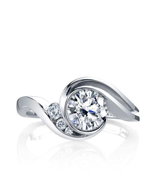 Splendid Engagement Ring - Mark Schneider Design