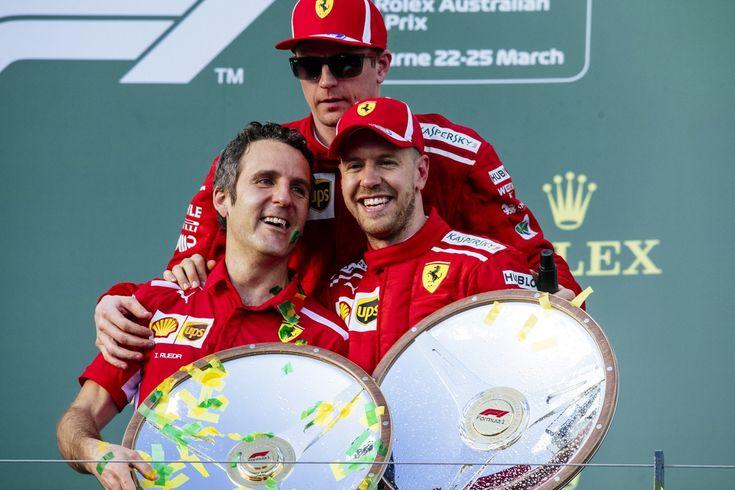 GP Australia: Vettel godereccio vince, Ferrari sfarina la Mercedes