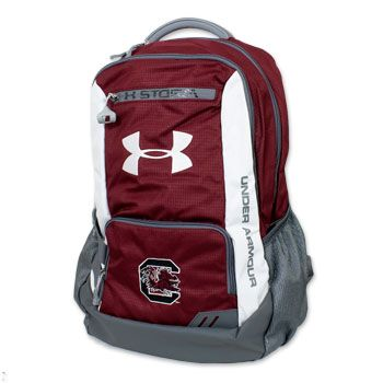 South Carolina Gamecocks Under Armour Backpack - Garnet #gamecocks