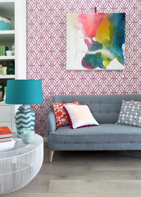25+ parasta ideaa Pinterestissä Wandgestaltung wohnzimmer