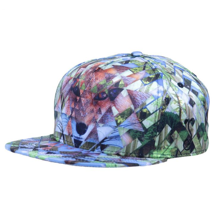 Spirit Fox Shallow Snapback #Blue #cf-size-s-m #fox